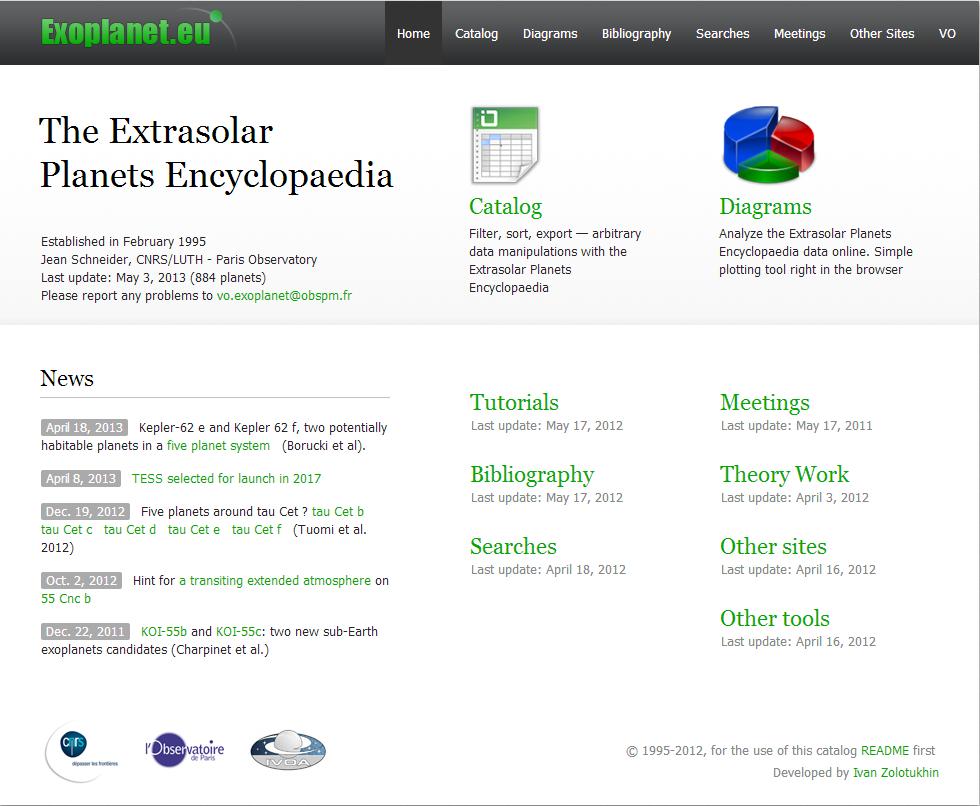 exoplanet.eu